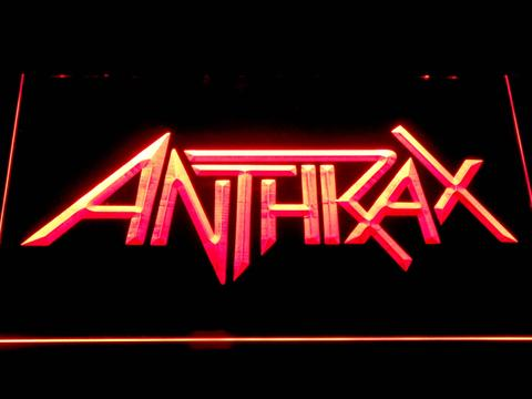 Anthrax LED Neon Sign