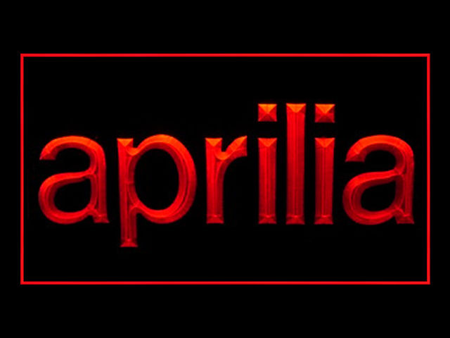 Aprilia Motorcycles LED Sign