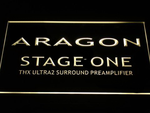 Aragon Stage One LED Neon Sign
