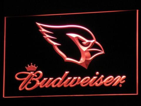 Arizona Cardinals Budweiser LED Neon Sign