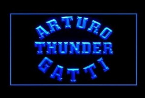 Arturo Gatti Boxing LED Neon Sign