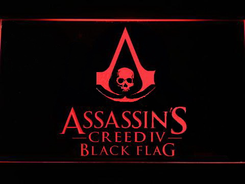Assassin's Creed Black Flag LED Neon Sign