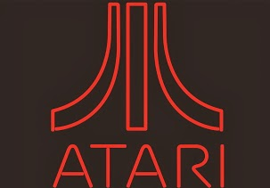 Atari Logo Red Classic Neon Light Sign 18 x 14