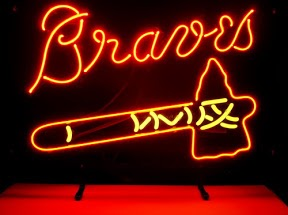 Atlanta Braves Classic Neon Light Sign 18 x 14
