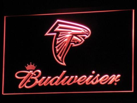 Atlanta Falcons Budweiser LED Neon Sign