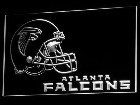Atlanta Falcons Helmet LED Neon Sign