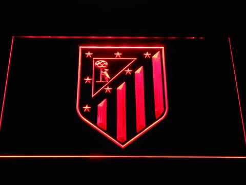 Atletico Madrid Crest LED Neon Sign