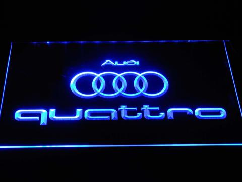 Audi Quattro LED Neon Sign