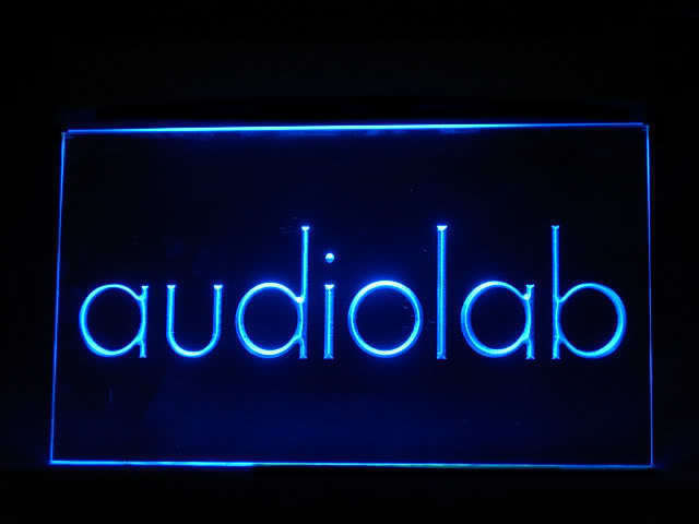 Audiolab LED Light Sign