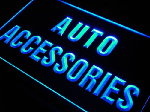 Auto Accessories LED Light Sign