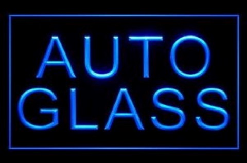 Auto Glass Parts Windshield Professional LED Neon Sign