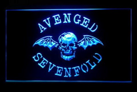 Avenged Sevenfold LED Neon Sign