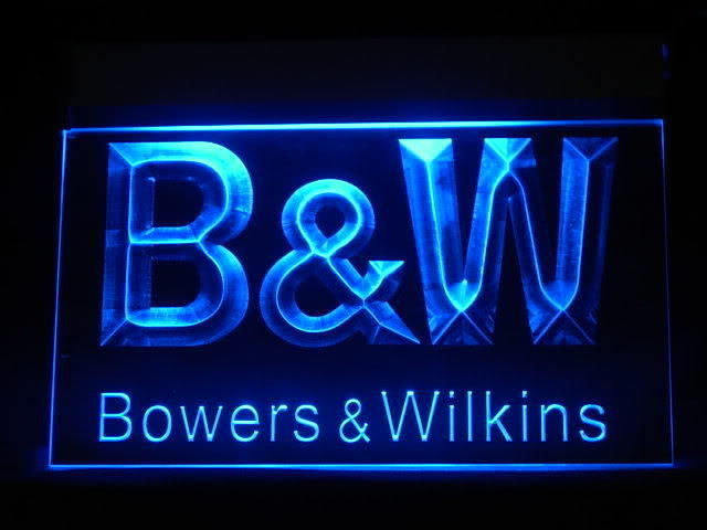 B&W Bowers & Wilkins LED Sign