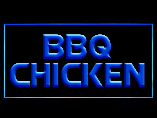 BBQ Chicken LED Neon Sign