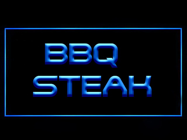 BBQ Steak LED Neon Sign