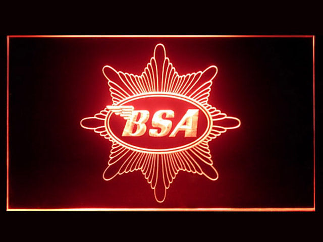 BSA Badge LED Light Sign