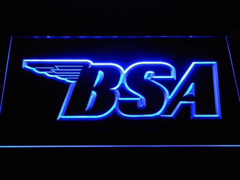 BSA Outline LED Neon Sign