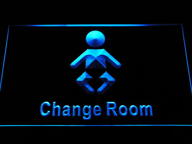 Baby Change Room Display Neon Light Sign