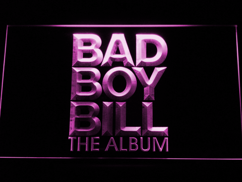 Bad Boy Bill LED Neon Sign