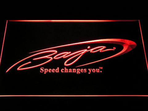 Baja Boat Fishing Logo LED Neon Sign