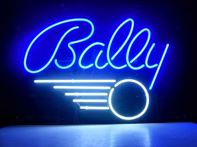Bally Blue Classic Neon Light Sign 18 x 14