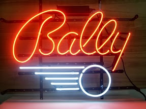 Bally Red Classic Neon Light Sign 18 x 14