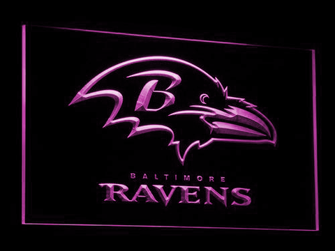 Baltimore Ravens LED Neon Sign