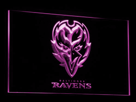 Baltimore Ravens Raven LED Neon Sign