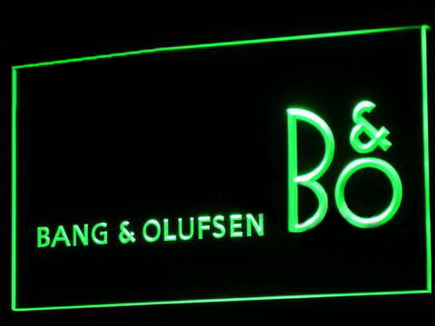 Bang & Olufsen LED Neon Sign
