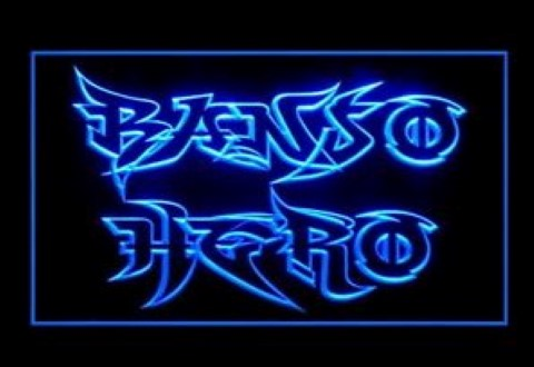 Banso Hero LED Neon Sign