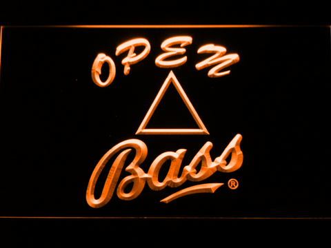 Bass Open LED Neon Sign