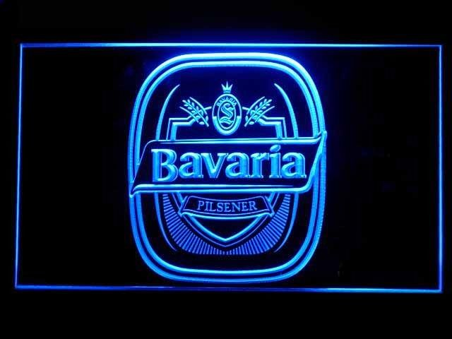 Bavaria Brewery Logo Neon Sign