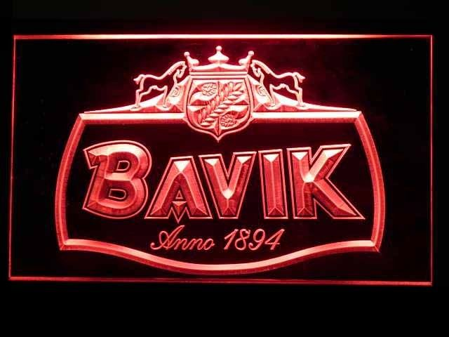 Bavik Beer Logo Neon Light Sign