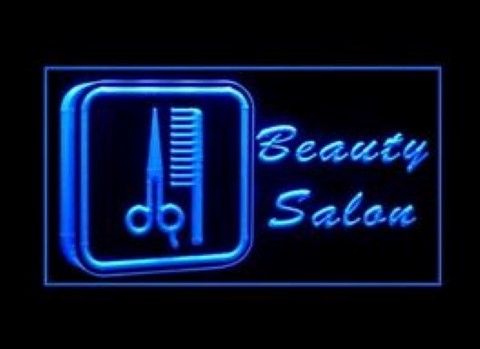 Beauty Salon Paradise Massage LED Neon Sign