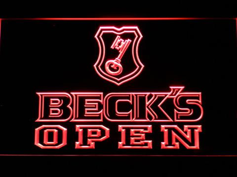 Beck's Open LED Neon Sign