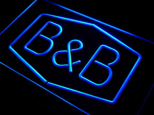 Bed and breakfast B & B Room Neon Light Sign