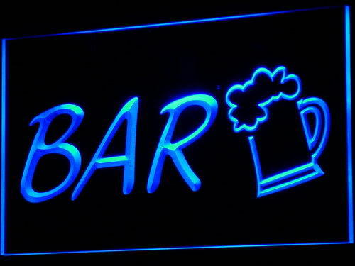 Beer Cup Brewer Bar neon Light