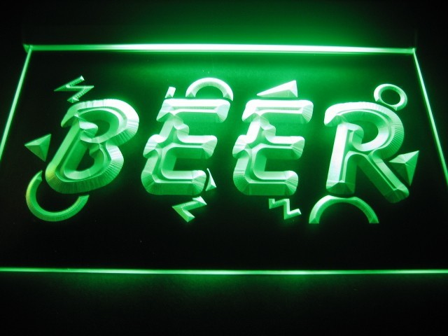 Beer Logo Bar Pub Store Neon Light Sign Neon