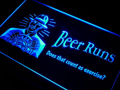 Beer Runs count as exercise