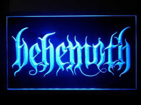 Behemoth 2 LED Neon Sign
