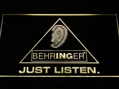 Behringer LED Neon Sign