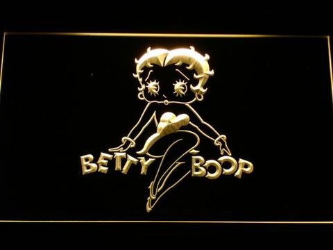 Betty Boop LED Neon Sign