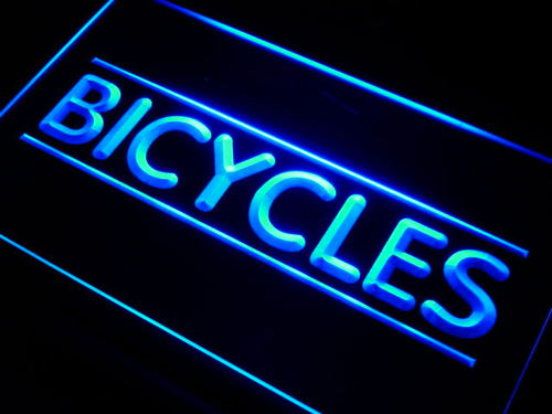 Bicycles Shop Neon Light Sign