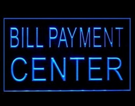 Bill Payment Center LED Neon Sign