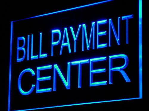 Lovely Bill Payment Center Lure Adv Shop Light Sign Ideas