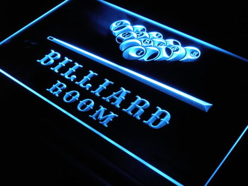 Billiard Pool Room Bar Beer LED Neon Sign