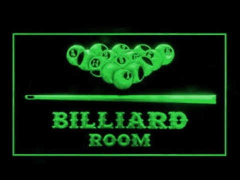 Billiard Room Play Now LED Neon Sign