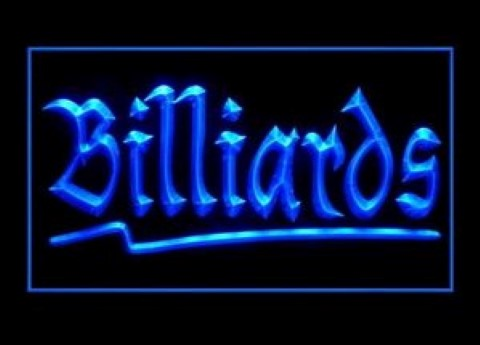 Billiards LED Neon Sign