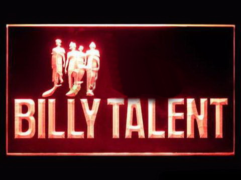 Billy Talent LED Neon Sign