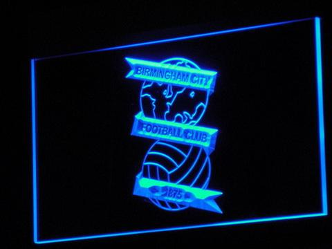 Birmingham City Football Club LED Neon Sign